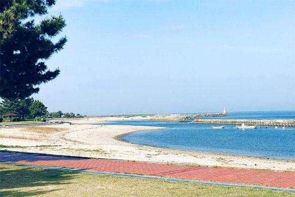 下田ビーチ